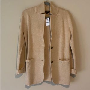NWT JCrew Sweater Blazer-Small